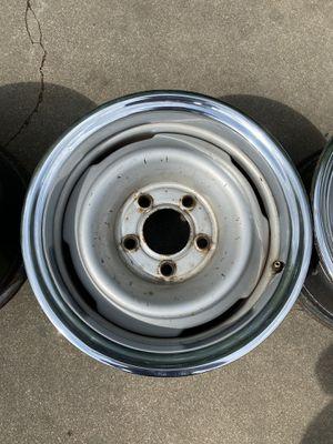 Photo 15x7 Chevy rally wheels
