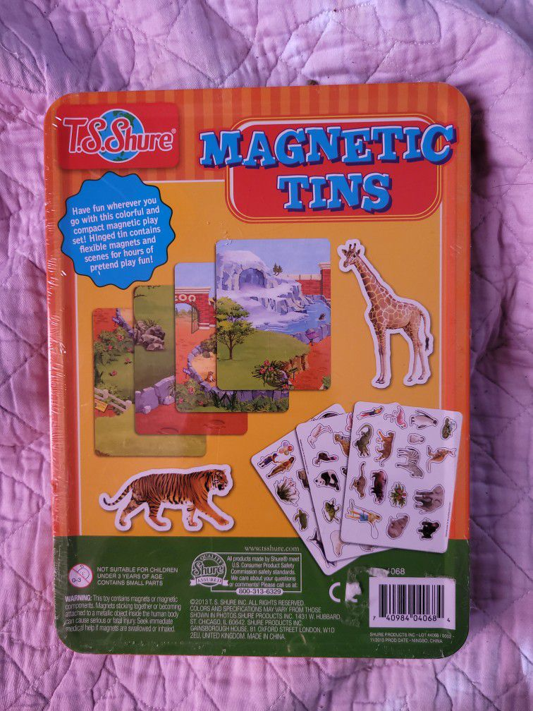 A Great Travel Activity Magnetic Tins For Ages 2-8