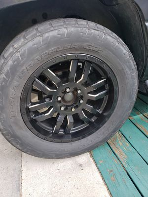 Photo Fuel 20 in wheels trade only fit Toyota Nissan Chevy