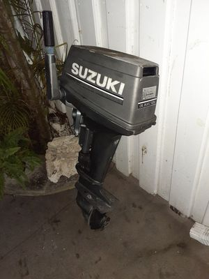 Photo Suzuki outboard 15 hp