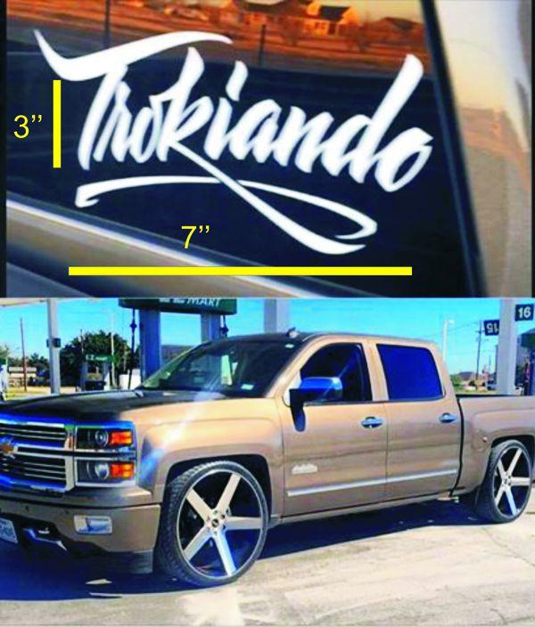 "Trokiando sticker decal 3""x7"" for Sale in Albuquerque, NM ..."