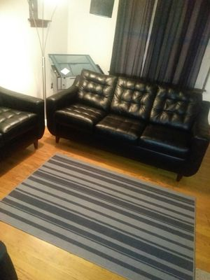Remarkable New And Used Black Couch For Sale In St Louis Mo Offerup Onthecornerstone Fun Painted Chair Ideas Images Onthecornerstoneorg