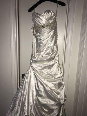 Pearl White Embroidered Wedding Dress For In Marietta Ga