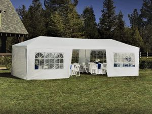 NEW 10' x 30' White Outdoor Canopy Tent w/ 8 walls, unopened for Sale in Centreville, VA