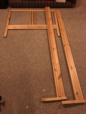 Twin size bed frame for Sale in Centreville, VA