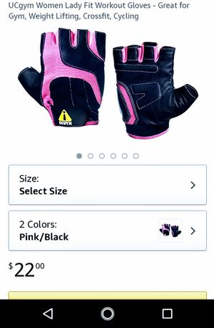 UCGYM GLOVES WOMENS for Sale in Los Angeles, CA
