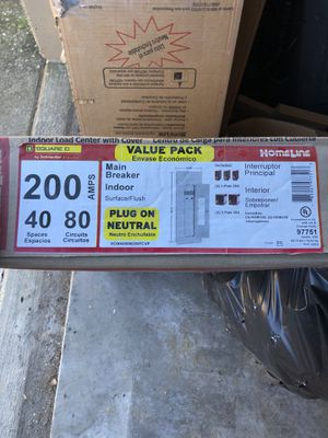Square D Homeline 150 and 200 amp panels for Sale in Columbus, OH