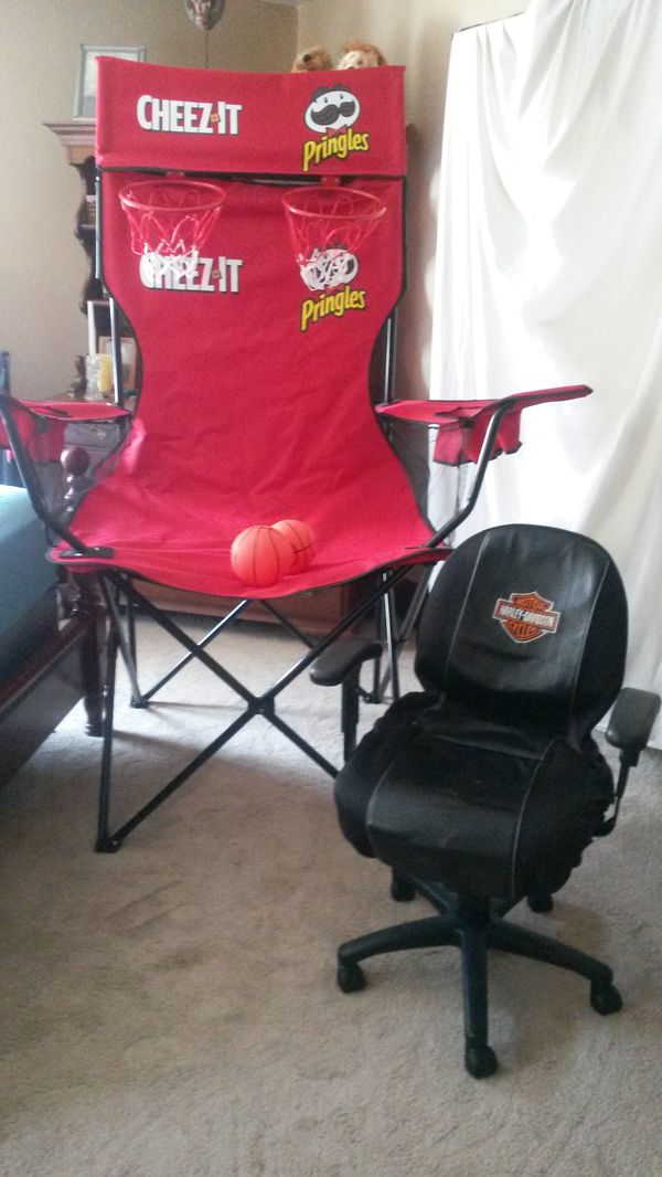 cheez it pringles game day chair for sale in cleveland oh offerup