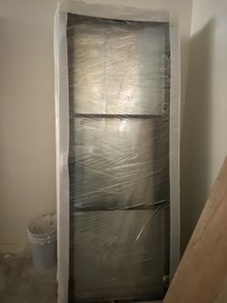 New Steel Glass Doors Double Tempered Custom Made Thumbnail