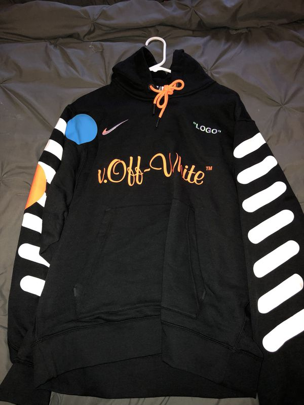 bcc09410b5f4 Nikelab x OFF-WHITE Mercurial NRG X Hoodie BLACK for Sale in Tacoma ...