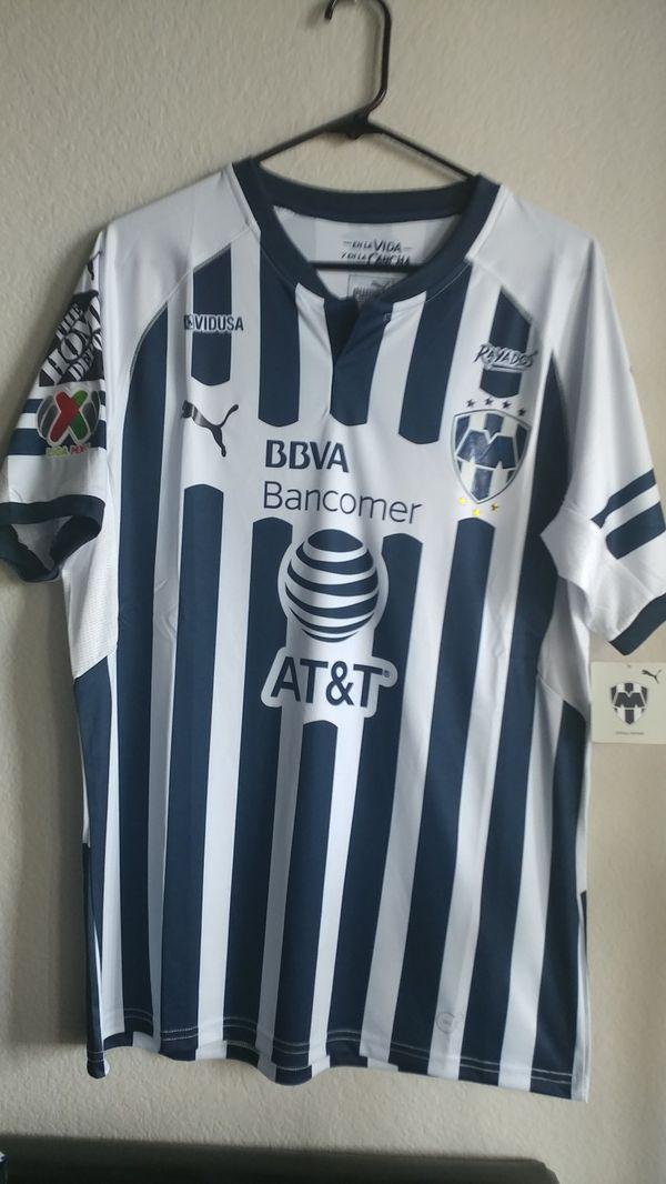 c3f085ad9e2a Puma Mens 18 19 Monterrey Home jersey Original for Sale in Phoenix ...