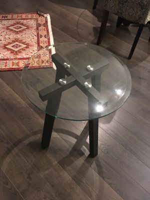 Glass top end table for Sale in McLean, VA