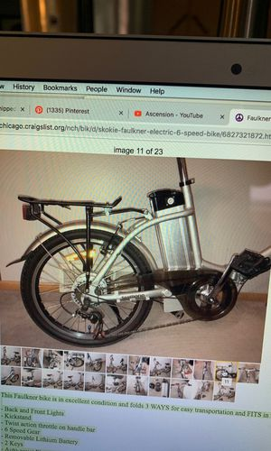 Faulkner Electric 6 Speed Bike 19MPH for Sale in Skokie, IL - OfferUp