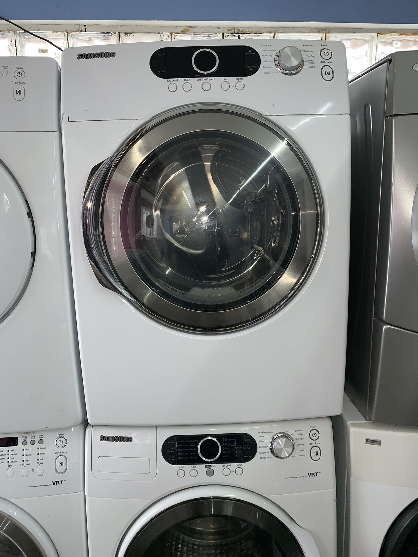 Samsung washer and dryer gas