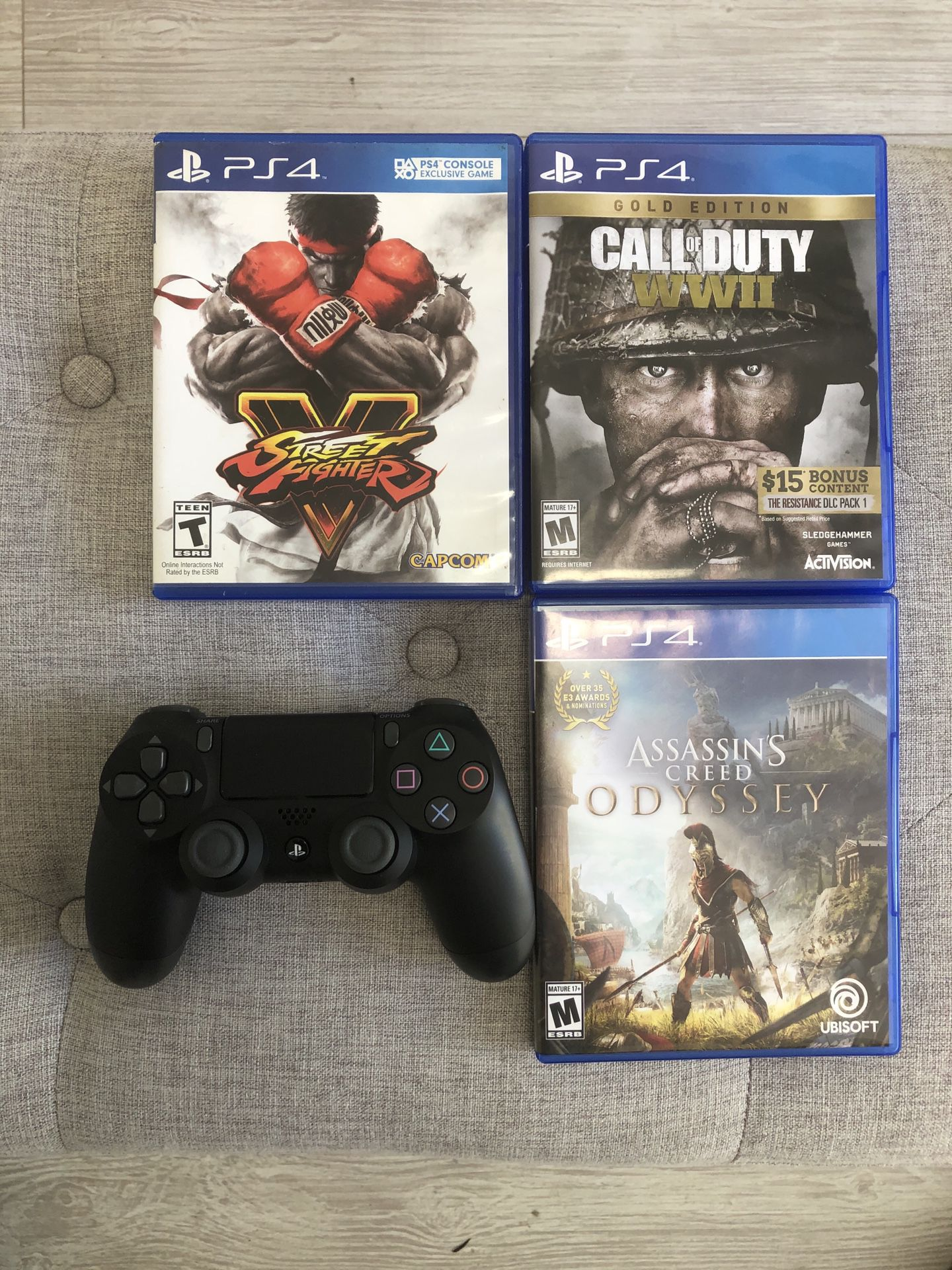 New PS4 Slim 1TB with controller + 3 games!