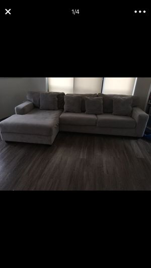 Sectional Couch with pillows for Sale in Arlington, VA
