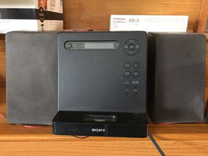 Sony Cmt Lx 20i Am Fm Ipod Mp3 Cd Player For In Undefined