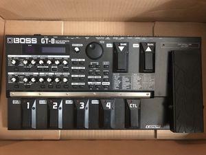 Boss GT-8 Guitar Effects Processor for Sale in Atlanta, GA