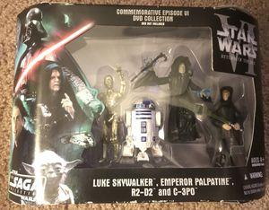 Hasbro Star Wars Commemorative Episode VI DVD Saga Collection 2006 Emperor for Sale in Duluth, GA