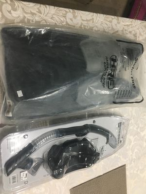 Two pair of swimming dive gears and fins for Sale in Sterling, VA