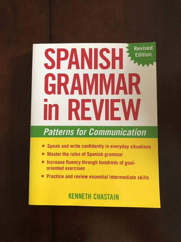 Spanish Grammar In Review Book for Sale in Milford, OH - OfferUp