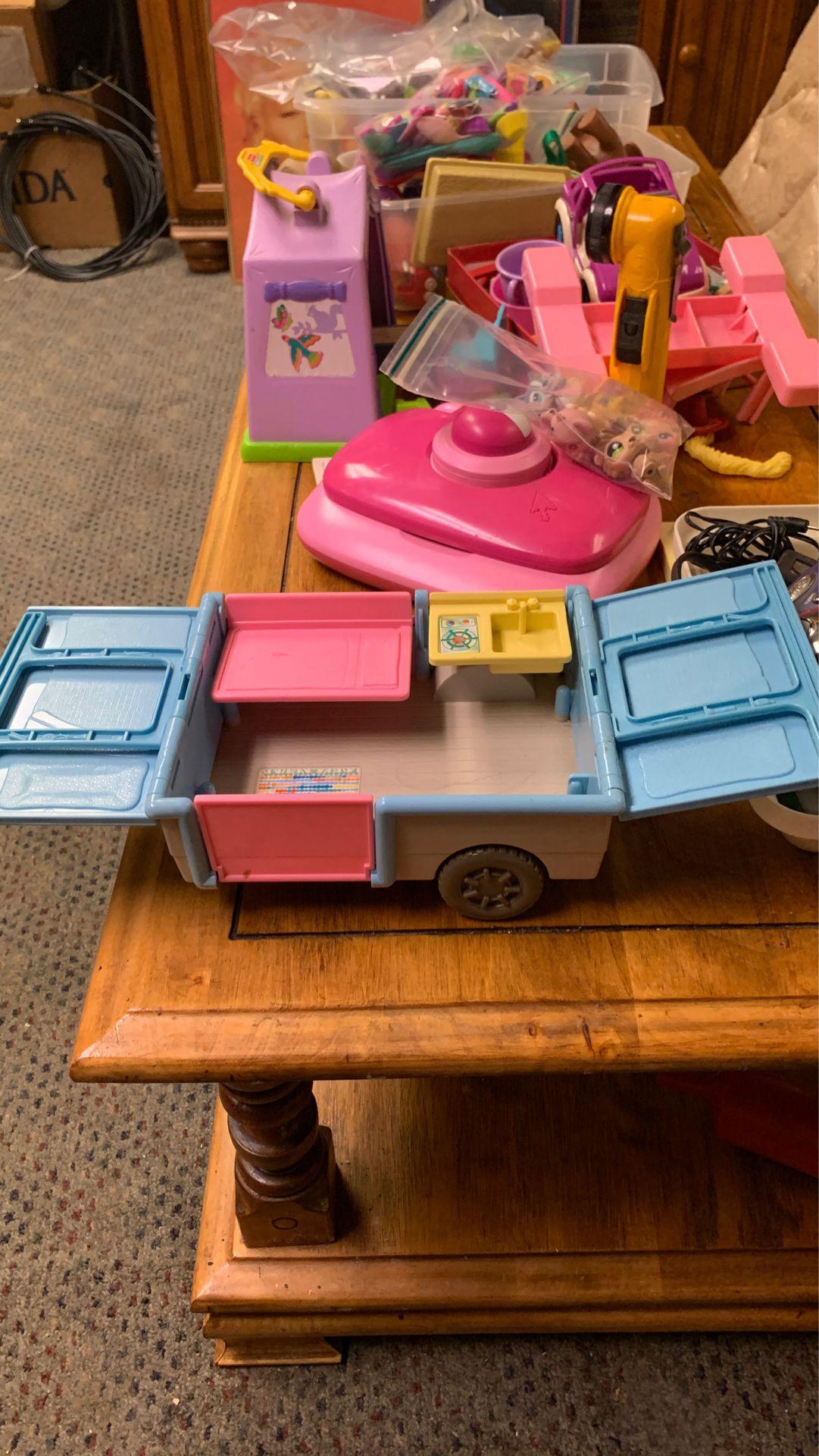 Barbie camper add on