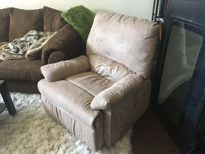 Couch & recliner for Sale in Denver, CO