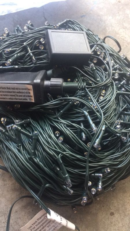 333ft commercial grade string lights... for Sale in ...