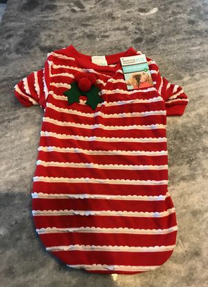 Fashion dog apparel and collar Christmas clothes for Sale in Orlando, FL