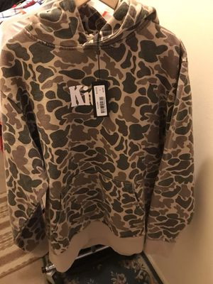 Kith x Timberland Camo Hoodie Large for Sale in Rockville, MD