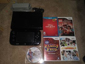 Nintendo Wii U with games for Sale in Germantown, MD