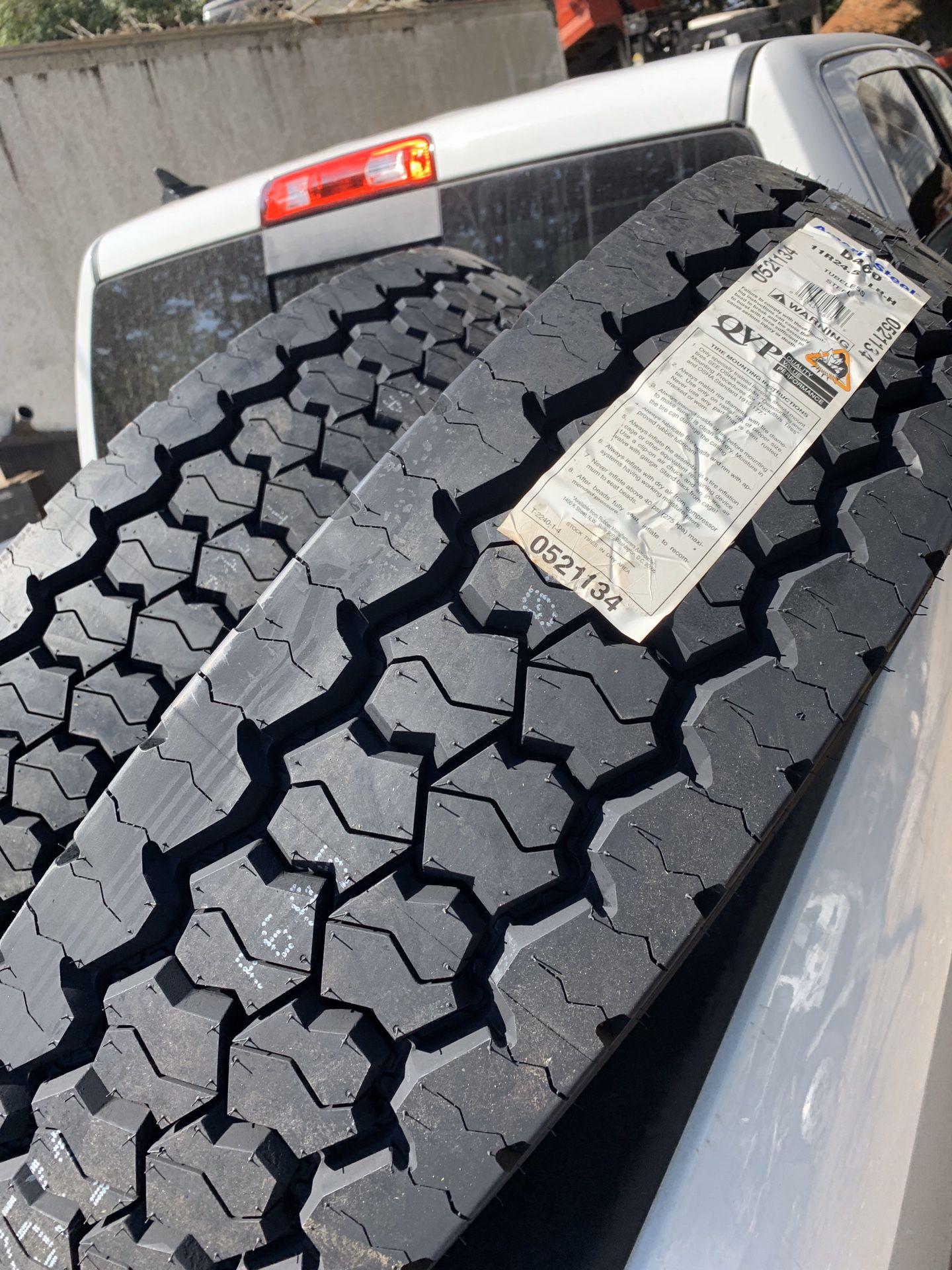 Tires Dump Truck