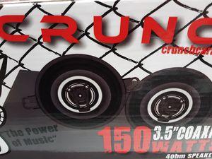 Photo Crunch 3 1/2 inch 2 way 150 watts car speakers ( price is firm regv$35+tax)