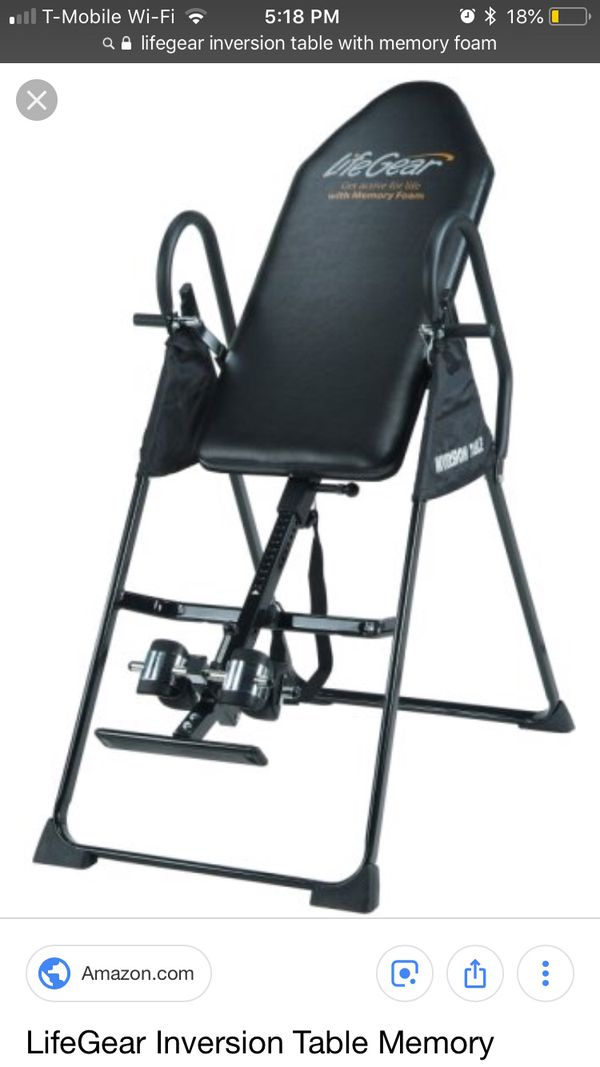 Lifegear Inversion Table For Sale In Federal Way Wa Offerup
