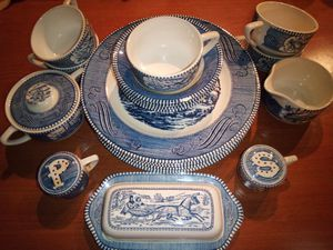 Currier & Ives vintage dishes by Royal for Sale in St. Louis, MO