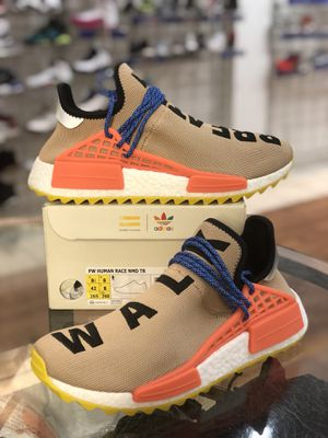 Brand new Pale Nude Pharrell Human Race Nmd size 8.5 for Sale in Silver Spring, MD