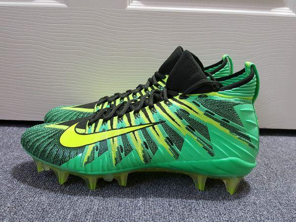 cheap for discount 46fb7 e717e New without box Nike Alpha Menace Elite Green Black Volt Men s Football  Cleats 871519 337