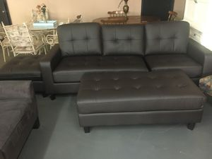 Sofa Set With Ottoman For In Douglasville Ga