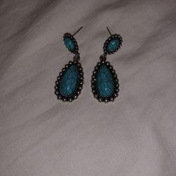 Turquoise Earrings Thumbnail