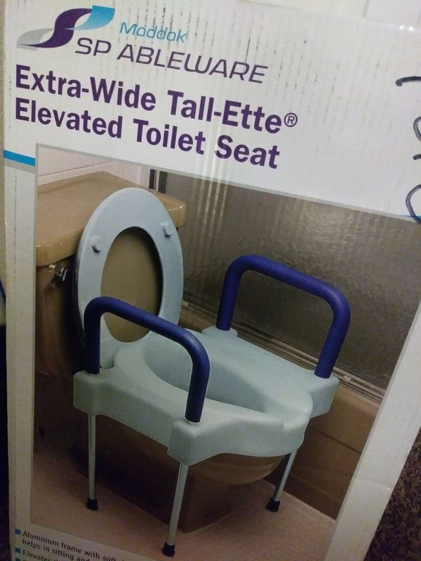 Sensational Extra Wide Tall Ette Elevated Toilet Seat For Sale In Andrewgaddart Wooden Chair Designs For Living Room Andrewgaddartcom