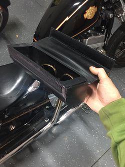 Harley-Davidson leather bag/case Thumbnail