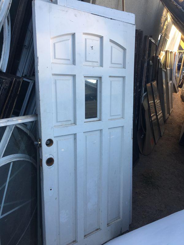 Door Solid Wood Entry Door 36x80 For Sale In Antelope Ca Offerup