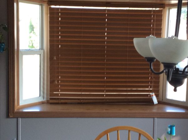 Blinds for Bay Window and Kitchen Windows Custom Order FREE for Sale ...