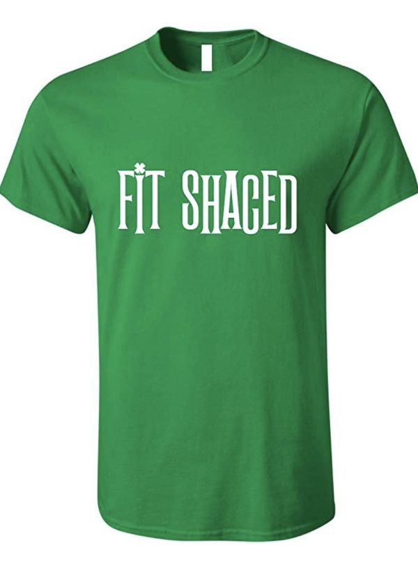 b22a8970 Fit Shaced Funny St Patrick S Day Beer Drinking Shirt Irish Green Xl For  Sale In