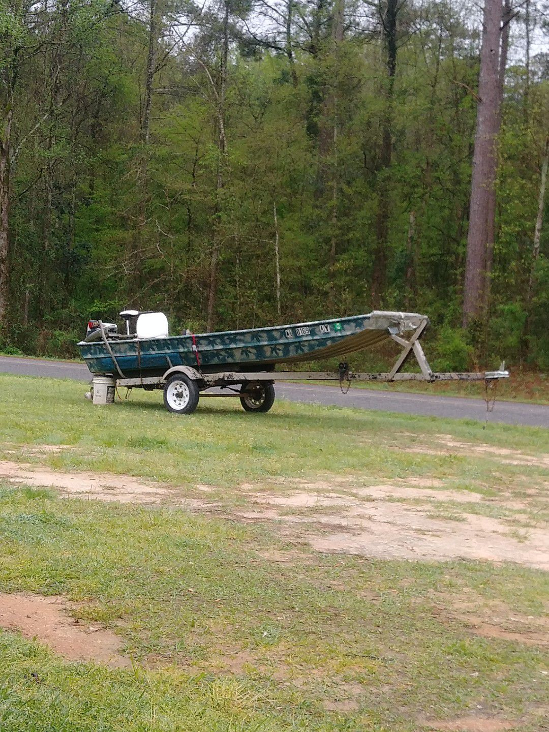 Photo GREAT BOAT, ELECTRIC MOTOR, TRAILER FOR SALE!