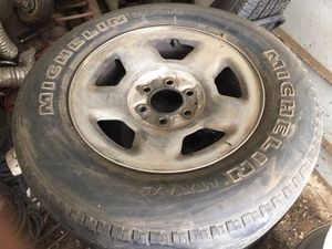 Photo Ford rims and tires 17 inch