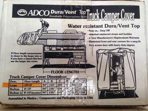 ADCO DURA VENT TRUCK CAMPER COVER for Sale in Queen Creek, AZ