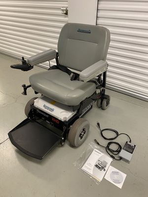Photo Hoveround Teknique XHD Bariatric Power Mobility Chair - 450lb Capacity