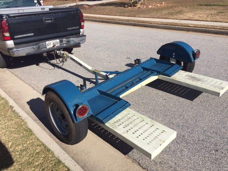 Stehl tow car dolly (car moving)