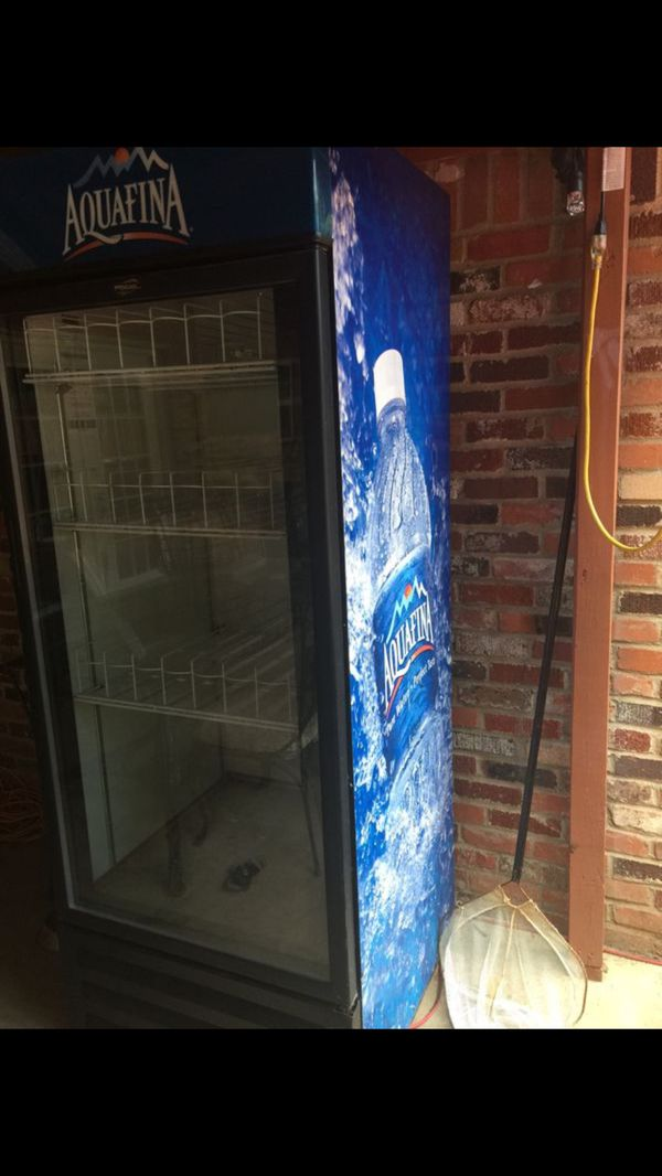 Big Aquafina cooler/refrigerator for Sale in Fort Worth, TX - OfferUp